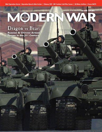 (DG: Modern War Magazine #12, with Dragon vs Bear, China vs Russia in the 21s Century, Board Game)