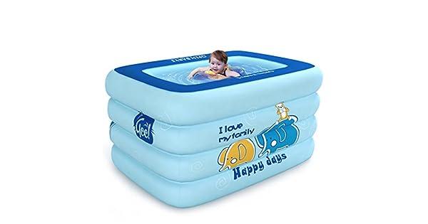 Amazon.com: Bañera hinchable - Piscina infantil (0 – 4 años ...
