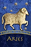 Toland Home Garden Zodiac Aries 28 x 40 Inch Decorative Astrology Sheep Sign House Flag