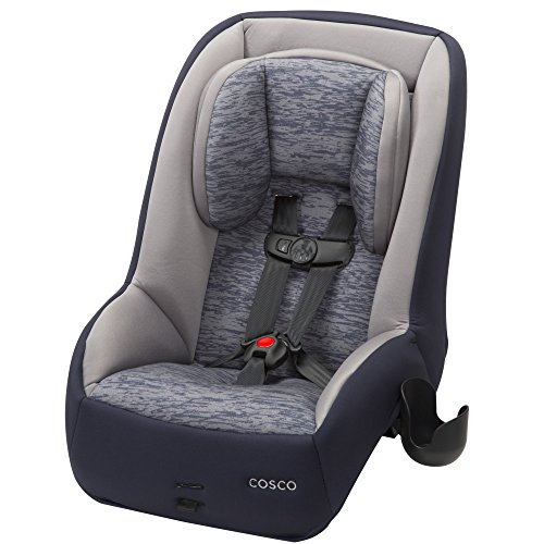 Express Booster Car Seat - Cosco Mighty Fit 65 DX Convertible Car Seat, Heather Navy