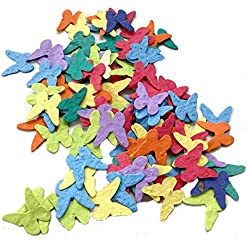 Plantable Seed Paper Butterfly Party & Wedding Favors (Qty. 100)