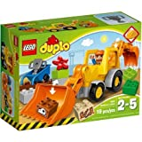 LEGO DUPLO Town Backhoe Loader Building Set, 10811 by Generic