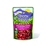 Green Valley Organics Dark Red Kidney Bean Pouch, 15 Ounce (Pack of 12)