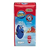 Health & Personal Care : Huggies Little Swimmers Disposable Swim pants, Large, 10 Count Disney Character may be different