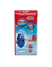 Huggies Little Swimmers Disposable Swim pants, Large, 10 Count Disney Character may be different BOBEBE Online Baby Store From New York to Miami and Los Angeles
