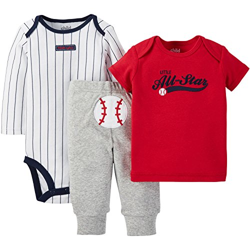 Child Carters Baseball Bodysuit Outfit