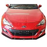 Red Adjustable Front Bumper Lip Spoiler Splitter