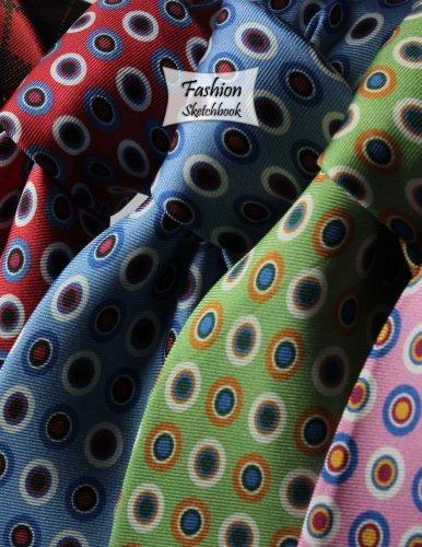 Fashion Sketchbook: Neckties, 8.5