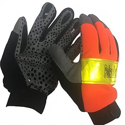 High Visibility Ergonomic Freezer Gloves