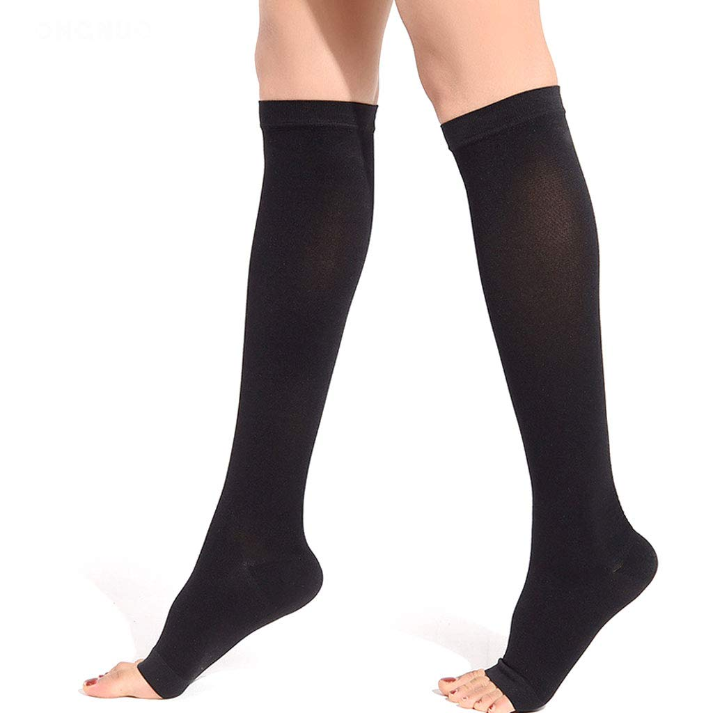 Varicose Stockings Treatment Type Medical Female Male Pressure Elastic Surgery postoperative Medical antithrombotic Nursing Calf varicose Socks,level2blackA,S DONGBALA
