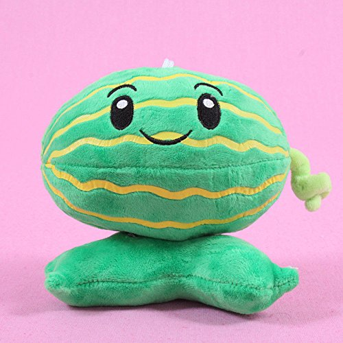 Generic Collection 2018!!! Plants vs Zombies 2 PVZ Figures Plush Baby Staff Toy Stuffed Soft Doll (Melon Plush)