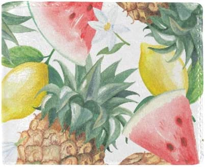 Kawaii Pink Fruit Pasteque D Ete Cool Lether Carte De Visite Piece