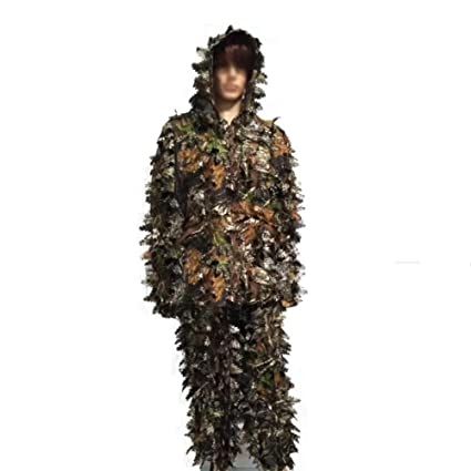 fresh styles new lifestyle latest design DONG 3D Ghillie Suit Tenue Camouflage Costume Chasse Forêt ...
