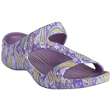 DAWGS Women's Arch Support Loudmouth Z, Pazeltine, 6