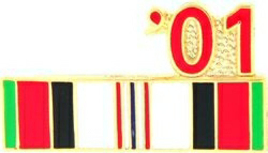 '01 Afghanistan Year Lapel Pin or Hat Pin