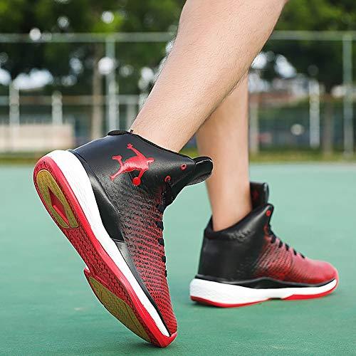 Nuovi Scarpe Red Basket top Sneakers All'usura Antiscivolo High Primavera Fhtd Da 2018 Uomini Resistente Autunno gHqxW5tw6