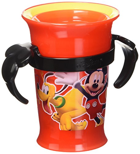 Grow Up Cup, Red, 7 Ounce (Mickey Mouse Graduate)