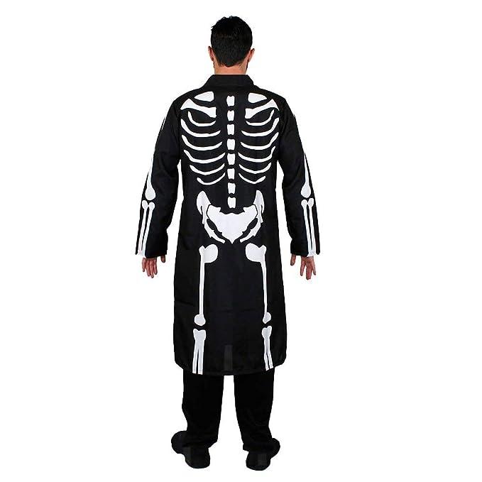 ILOVEFANCYDRESS Disfraz DE Esqueleto para Hombres Conjunto ...