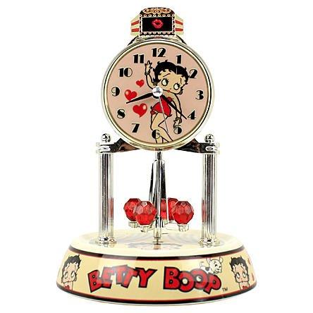 Betty Boop Anniversary Clock by MZ (Betty Boop Round Clock)