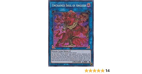 Yu-Gi-Oh Unchained Soul of Anguish CHIM-EN044 Secret Rare