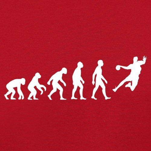 Evolution Of Man Handball - Femme T-Shirt - Rouge - XL