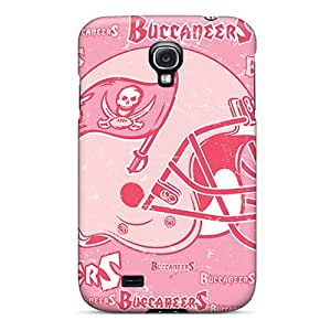 Scratch Resistant Hard Cell-phone Cases For Samsung Galaxy S4 (qLV11287HNQs) Customized Lifelike Tampa Bay Buccaneers Pictures