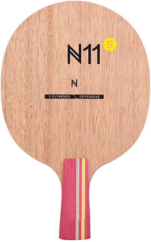 Hewen-Table Tennis Paddle Madera De Paleta del Ping-Pong Mesa De Ping Pong Raqueta De Ping-Pong Portátil Fija Escuela para, Hogar, Deportes Club, Oficina Raquetas de Tenis de Mesa