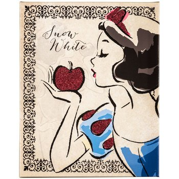Snow White Vintage (Snow White Kiss Vintage Fashionista Canvas Wall Art Sign Home Media Room Theater Room Decoration)