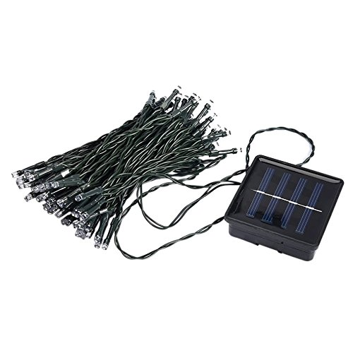 Vintage Typewriter Repair (33FT 10m 50 LED Solar Powered Fairy String Lights Waterproof for Outdoor, Gardens, Homes, Wedding, Christmas Party(White))