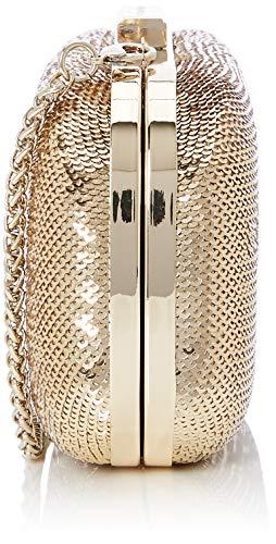 X nbsp;sequin Karen Fashions w L H Femme Millen Or Limited Pochettes 10 5x6 gold 5x16 Clutch 5 Cm wpptZr