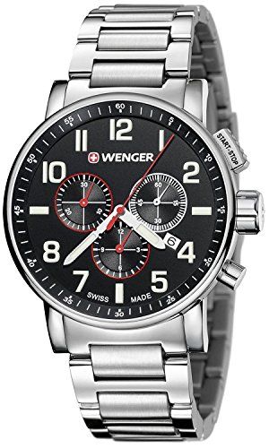 WENGER ATTITUDE CHRONO Men's watches 01.0343.105