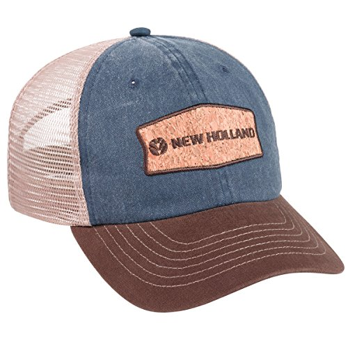K-Products Headwear New Holland Stone Washed Cotton Twill Cap