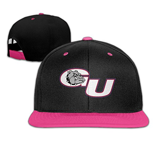 Gonzaga Bulldogs University Sport Adjustable Casual Hip-hop Baseball Cap Pink