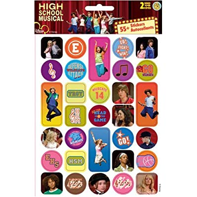 Disney High School Musical Sticker Large Two-Sheet Pack: Office Products