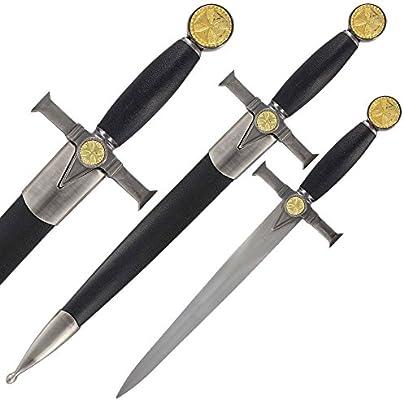 Amazon.com: Soldados de Cristo Caballeros Templarios daga ...