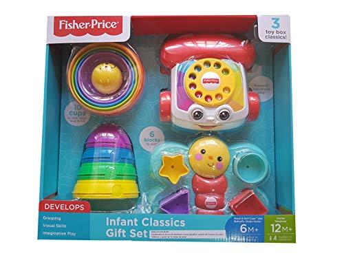 Fisher-Price Infant Classics Gift Set #2140446 - 3 Toy Box Classics