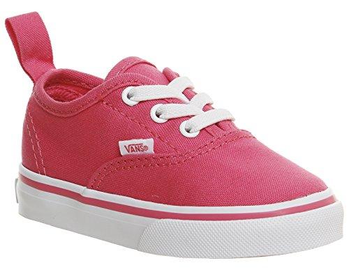 Vans Niños Hot Rosa Authentic Zapatillas Hot Rosa
