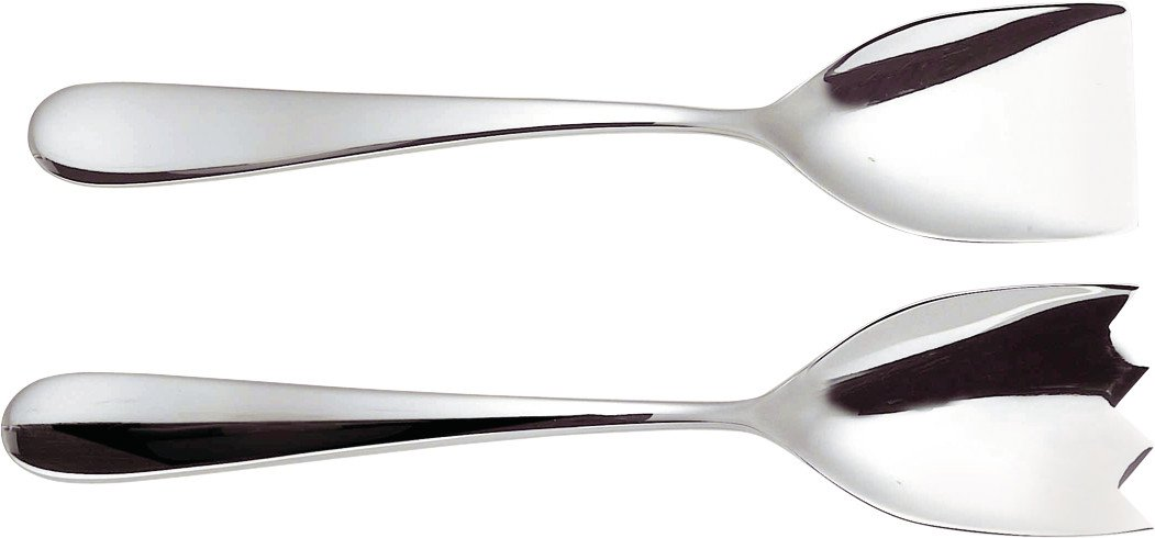 Alessi Nuovo Milano Salad Set, (5180/14) Salad_Tools_Spinners Sottsass Ettore Tools_Gadgets_Barware
