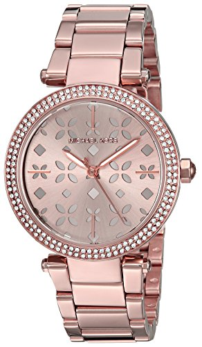 Michael Kors Women's Mini Parker Rose Gold-Tone Watch (Mini Ladies Jewelry Watch)