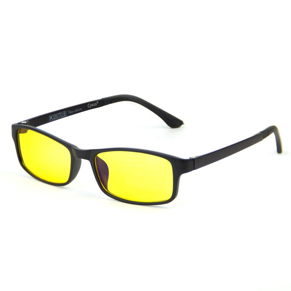 Cyxus Lightweight TR90 Blue Light Filter Glasses, Better Sleep Anti Eyestrain Headache Cyxus Technology Group Ltd CY-134