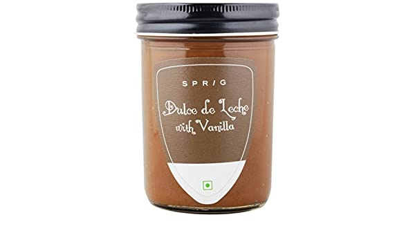 Amazon.com : Sprig Dulce De Leche with Vanilla, 290g : Grocery & Gourmet Food