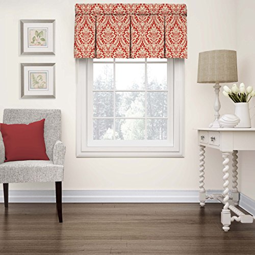 - WAVERLY Kitchen Valances for Windows - Donnington 52