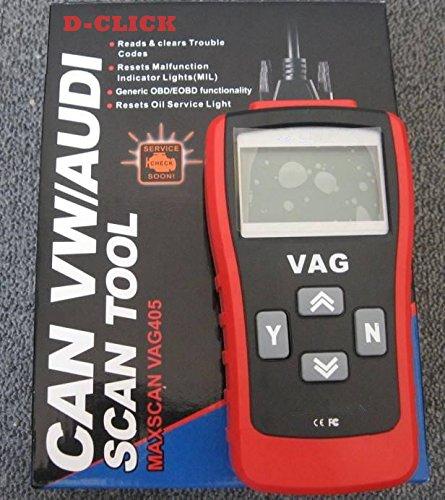 D CLICK MaxScan VAG405 Code Reader product image