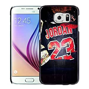 New Personalized Custom Designed For Samsung Galaxy S6 Phone Case For Chicago Bulls Jersey Jordan 23 Phone Case Cover