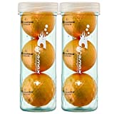 Chromax Metallic I Metallic Orange Golf Balls
