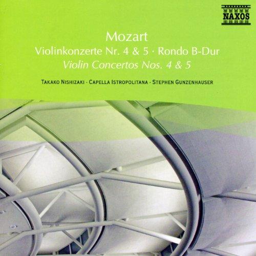 (Mozart: Violin Concertos Nos. 4 and 5 / Rondo )