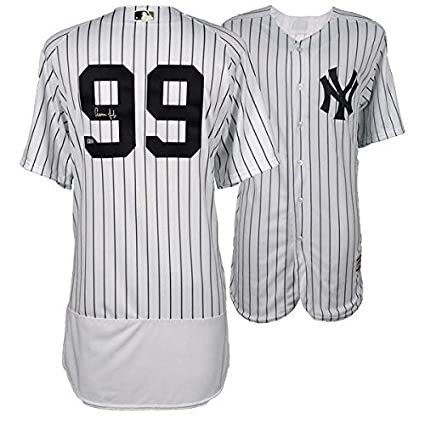 innovative design 42bc8 8b9b6 Aaron Judge Signed Authentic Yankee Pinstripe Jersey ...