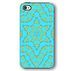 Jewish Menorah Kaleidoscope iPhone 4 and iPhone 4S Armor Phone Case