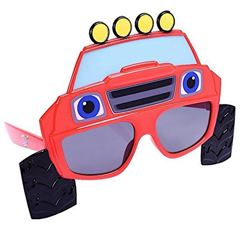 Sunstaches Nickelodeon Blaze and the Monster Machines Sunglasses, Party Favors, ()