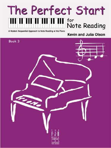 Note Reading Book (The Perfect Start for Note Reading, Book 3)